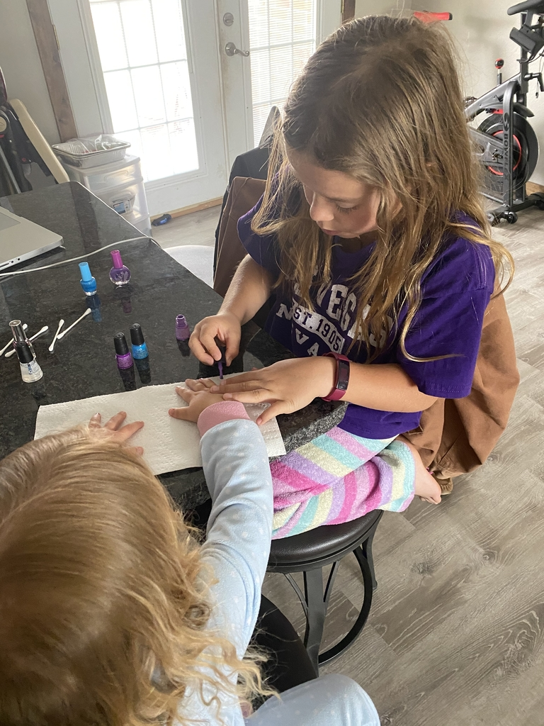 Student wants to be a nail artist when she grows up